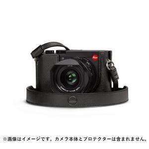 《新品アクセサリー》Leica (ライカ)  Q2用 レザーストラップ ブラック [ ストラップ ] ymapcamera