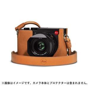《新品アクセサリー》Leica (ライカ)  Q2用 レザーストラップ ブラウン  [ ストラップ ] ymapcamera