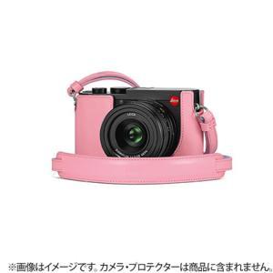《新品アクセサリー》Leica (ライカ)  Q2用 レザーストラップ ピンク [ ストラップ ] ymapcamera