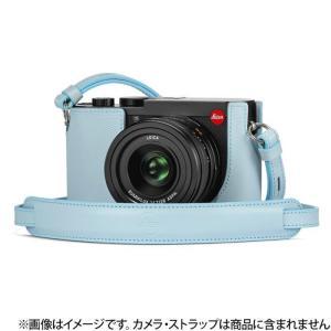 《新品アクセサリー》 Leica (ライカ) Q2用 レザープロテクター ライトブルー ymapcamera