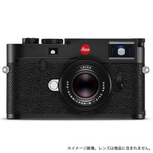 《新品》 Leica (ライカ) M10 ブラッククローム【オリジナルレザーポーチ プレゼントキャンペーン対象】|ymapcamera