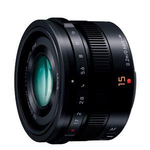 《新品》 Panasonic (パナソニック) LEICA DG SUMMILUX 15mm F1.7 ASPH. ブラック|ymapcamera