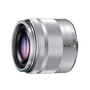 《新品》 Panasonic (パナソニック) LUMIX G VARIO 35-100mm F4.0-5.6 ASPH./MEGA O.I.S.シルバー|ymapcamera
