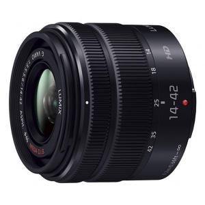 《新品》 Panasonic (パナソニック) LUMIX G VARIO 14-42mm F3.5-5.6II ASPH. MEGA O.I.S. ブラック|ymapcamera