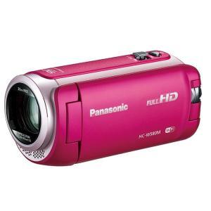 《新品》 Panasonic (パナソニック) デジタルハイビジョンビデオカメラ HC-W580M-P