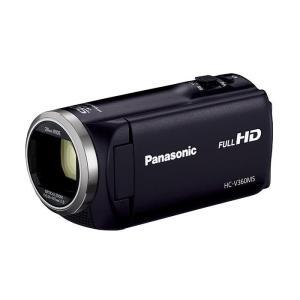 《新品》 Panasonic (パナソニック) デジタルハイビジョンビデオカメラ HC-V360MS-K ブラック