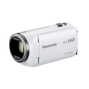 《新品》 Panasonic (パナソニック) デジタルハイビジョンビデオカメラ HC-V360MS-W ホワイト