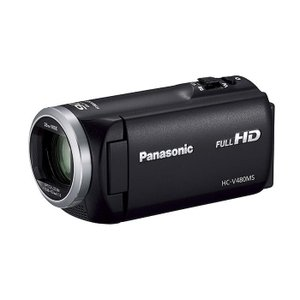 《新品》Panasonic (パナソニック) デジタルハイビジョンビデオカメラ HC-V480MS-K ブラック