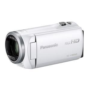《新品》 Panasonic (パナソニック) デジタルハイビジョンビデオカメラ HC-V480MS-W ホワイト