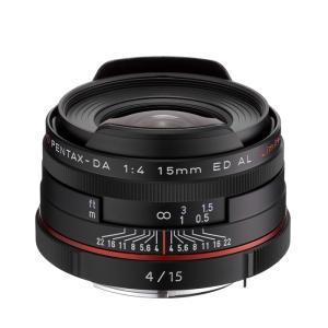 《新品》 PENTAX(ペンタックス) HD DA15mm F4 ED AL Limited ブラック|ymapcamera
