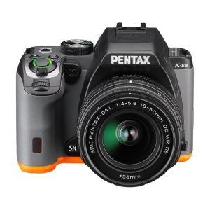 《新品》 PENTAX (ペンタックス) K-S2 18-50RE レンズキット ブラック×オレンジ 【在庫限り(生産完了品)】|ymapcamera