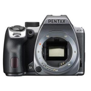 《新品》 PENTAX (ペンタックス) K-70 ボディ シルキーシルバー|ymapcamera