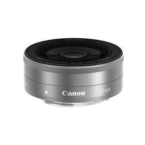 《新品》 Canon (キヤノン) EF-M22mm F2 STM シルバー|ymapcamera