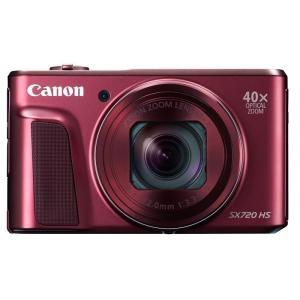 《新品》 Canon(キヤノン) PowerShot SX720 HS レッド|ymapcamera