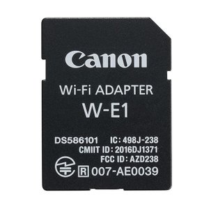 《新品アクセサリー》 Canon(キヤノン) Wi-Fiアダプター W-E1|ymapcamera