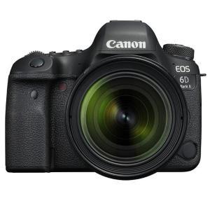 《新品》 Canon(キヤノン) EOS 6D Mark II EF24-70 F4L IS USM レンズキット|ymapcamera