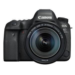 《新品》 Canon(キヤノン) EOS 6D Mark II EF24-105 IS STM レンズキット|ymapcamera