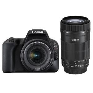 《新品》 Canon(キヤノン) EOS Kiss X9 ダブルズームキット ブラック|ymapcamera