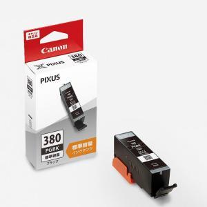 《新品アクセサリー》 Canon (キヤノン) インクタンク BCI-380PGBK ブラック|ymapcamera