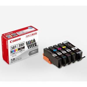 《新品アクセサリー》 Canon (キヤノン) インクタンク BCI-381s+380s 小容量タイプ 5色マルチパック
