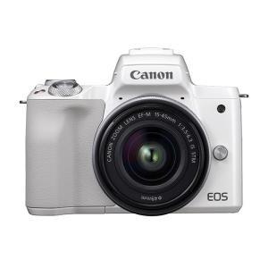 《新品》 Canon (キヤノン) EOS Kiss M EF-M15-45 IS STM レンズキット ホワイト【¥5,000-キャッシュバック対象】|ymapcamera