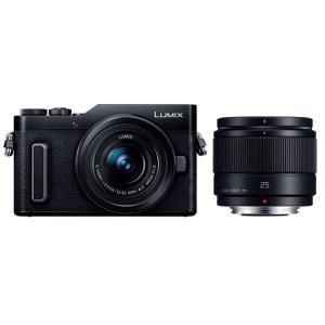 《新品》Panasonic (パナソニック) LUMIX DC-GF10W ダブルレンズキット ブラック|ymapcamera