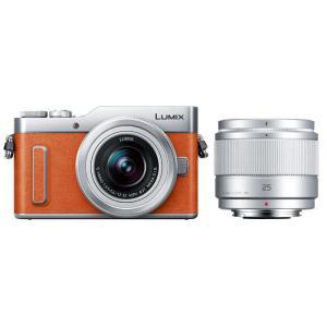 《新品》Panasonic (パナソニック) LUMIX DC-GF10W ダブルレンズキット オレンジ|ymapcamera
