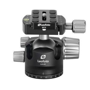 《新品アクセサリー》 Leofoto  (レオフォト) ミッドサイズ自由雲台 LH-40 ymapcamera