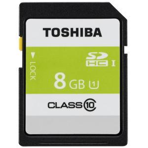 《新品アクセサリー》 TOSHIBA (トウシバ) SDHCカード UHS-1 8GB Class10 SDAR40N08G|ymapcamera