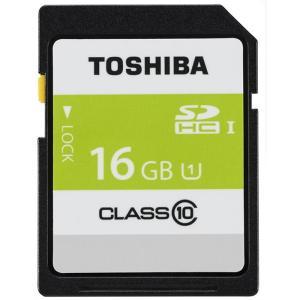 《新品アクセサリー》 TOSHIBA (トウシバ) SDHCカード UHS-1 16GB Class10 SDAR40N16G|ymapcamera