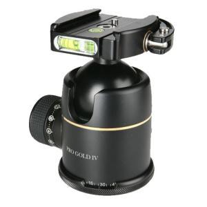 《新品アクセサリー》 photoclam(フォトクラム) 46mm プレミアム ボールヘッド雲台 Pro Gold IV Easy QR ブラック|ymapcamera
