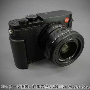 《新品アクセサリー》 LIM'S(リムズ) メタルグリップ本革カメラハーフケース ライカ Q2用 LC-QD2BK1 ブラック ymapcamera