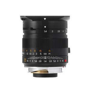 《新品》銘匠光学(めいしょうこうがく) TTArtisan 35mm F1.4 ASPH ブラック(ライカM用) ymapcamera