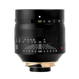 《新品》 銘匠光学(めいしょうこうがく)TTArtisan 50mm F0.95 ASPH ブラック(ライカM用) ymapcamera