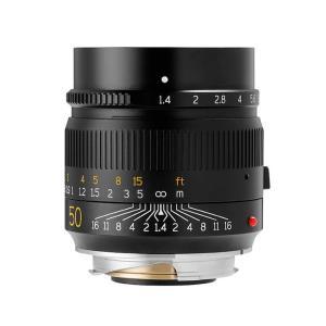 銘匠光学 (めいしょうこうがく) TTArtisan 50mm F1.4 ASPH (ライカM用) ブラック ymapcamera