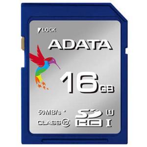 《新品アクセサリー》 ADATA (エーデータ) Premier SDHCカード UHS-I Class10 R/W:50/10 16GB ASDH1|ymapcamera