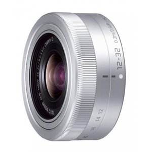 《新品》 Panasonic (パナソニック) LUMIX G VARIO12-32mm F3.5-5.6 ASPH. MEGA O.I.S. H-FS12032 シルバー|ymapcamera