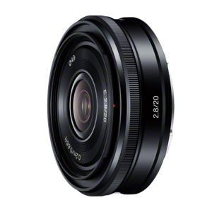 《新品》 SONY(ソニー) E 20mm F2.8 SEL20F28[ Lens | 交換レンズ ]|ymapcamera