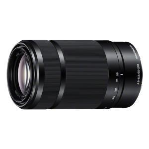 《新品》 SONY(ソニー) E 55-210mm F4.5-6.3 OSS SEL55210 ブラック【α6300ズームレンズキットと同時購入で¥20,000-キャッシュバック】|ymapcamera