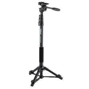 《新品アクセサリー》 Velbon (ベルボン) 自立式4段アルミ一脚 Pole Pod EX|ymapcamera