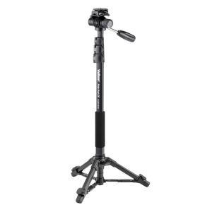 《新品アクセサリー》 Velbon (ベルボン) 自立式4段ビデオアルミ一脚 Pole Pod EX FLUID HEAD|ymapcamera