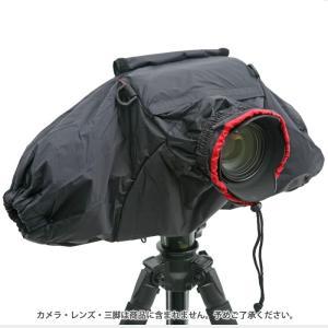 《新品アクセサリー》 Velbon(ベルボン)カメラレインカバー ブラック|ymapcamera