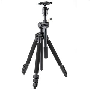 《新品アクセサリー》 Velbon(ベルボン) 中型マルチアングルカーボン4段三脚 VS-5400Q|ymapcamera