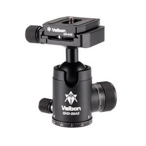 《新品アクセサリー》 Velbon (ベルボン) 高精度自由雲台 QHD-S6AS|ymapcamera