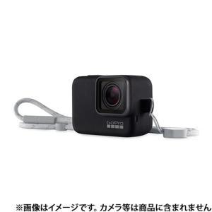 《新品アクセサリー》 GoPro (ゴープロ) スリーブ+ランヤード ACSST-001 ブラック