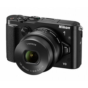 《新品》 Nikon(ニコン) Nikon 1 V3 標準パワーズームレンズキット ブラック