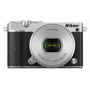 《新品》 Nikon(ニコン) Nikon 1 J5 標準パワーズームレンズキット シルバー【Sandisk microSDHCUHS-I8GBプレゼント】