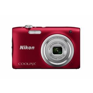 《新品》 Nikon (ニコン) COOLPIX A100 レッド※お一人様1点限り|ymapcamera