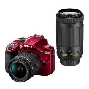 《新品》 Nikon(ニコン) D3400 ダブルズームキット レッド ymapcamera