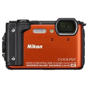 《新品》 Nikon (ニコン) COOLPIX W300 オレンジ ※お一人様1点限り|ymapcamera